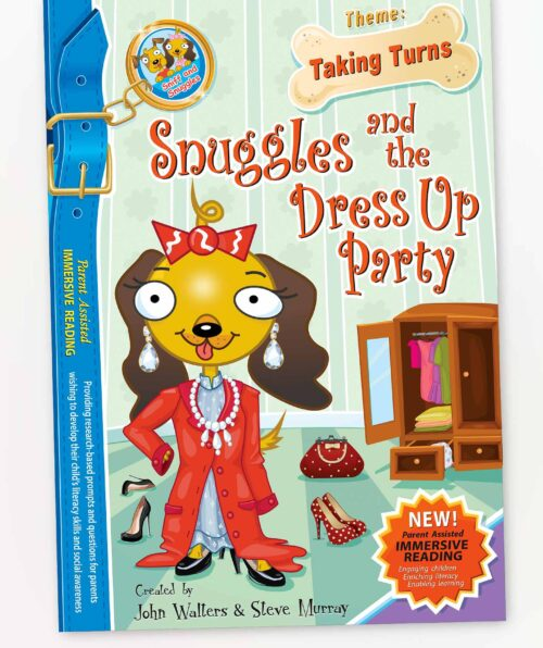 Snuggles and the Dress Up Party