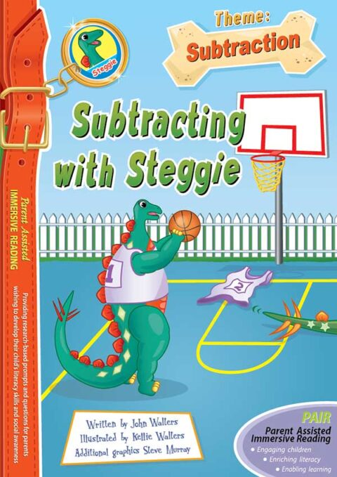 Subtracting with Steggie